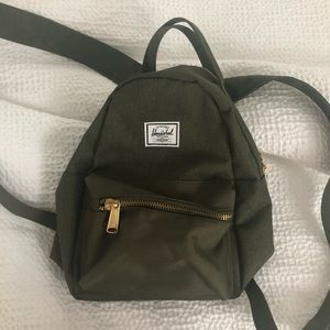 Mini Herschel Nova Backpack - Olive